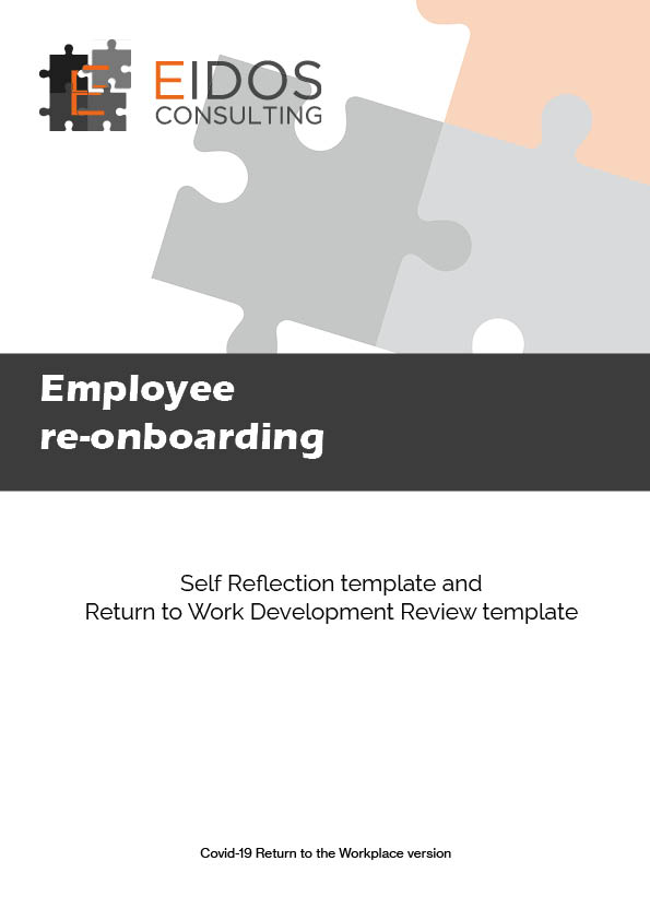 Return to work development review sample page 1