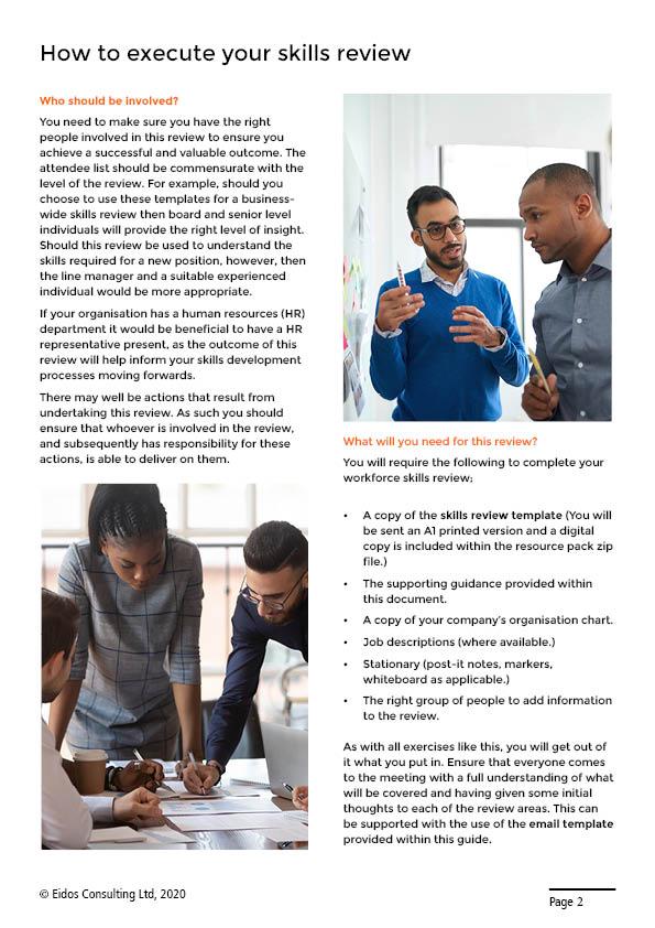 Workforce Skills Review Sample Page 3