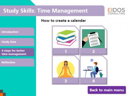 Time Management Module (Screenshot)