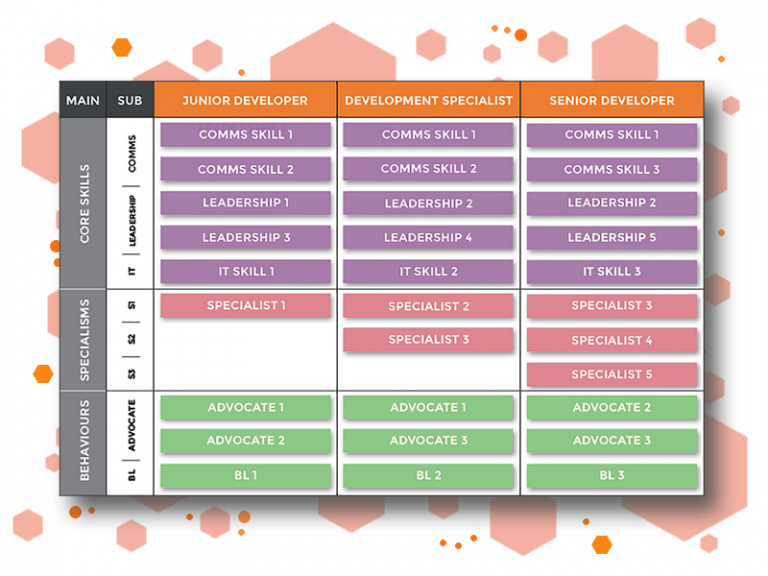 Competency framework graphic